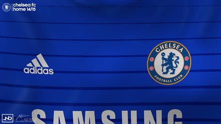 Chelsea home kit 14/15 by JuniorNeves