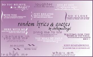 16 Random Text Brushes by strawberryangels