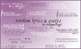 16 Random Text Brushes by strawberryangels