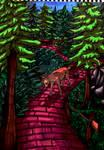 deer in wonderland