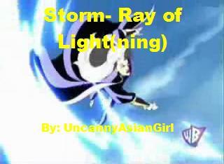 Storm-Ray of Light-ning by UncannyAsianGirl