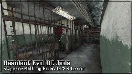 [MMD] REDC - Jails stage (Download)