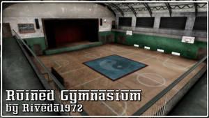[MMD] Ruined Gymnasium stage (PMX Download)