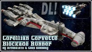 [MMD] Blockade Runner DL (90k views gift)