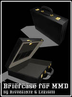 [MMD] Briefcase for MMD (DL pmx) by Riveda1972