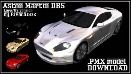 [MMD] Aston Martin DBS (PMX Download)