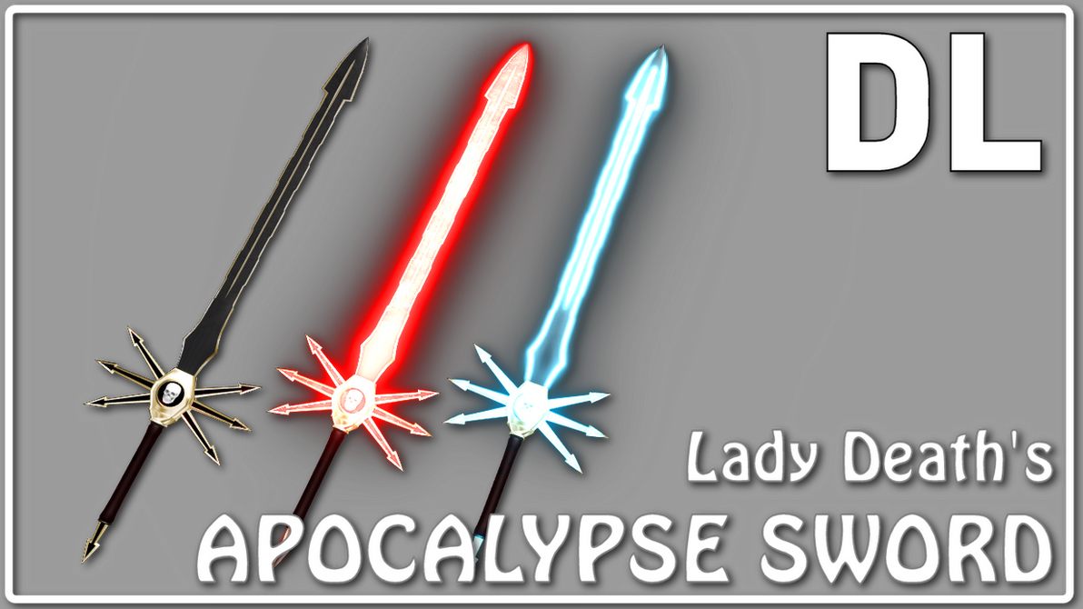 [MMD] Lady Death's Apocalypse Sword DL by Riveda1972