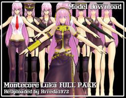 [MMD] Montecore Luka FULL PACK reuploaded by Riveda1972