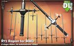 [MMD] R72 Rapier for MMD (PMX DL UPDATED)