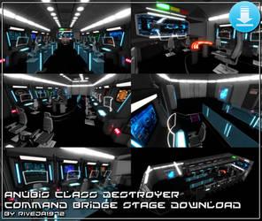 [MMD XPS OBJ] Anubis Command Bridge DOWNLOAD
