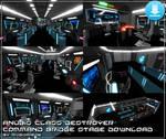 [MMD XPS OBJ] Anubis Command Bridge DOWNLOAD by Riveda1972