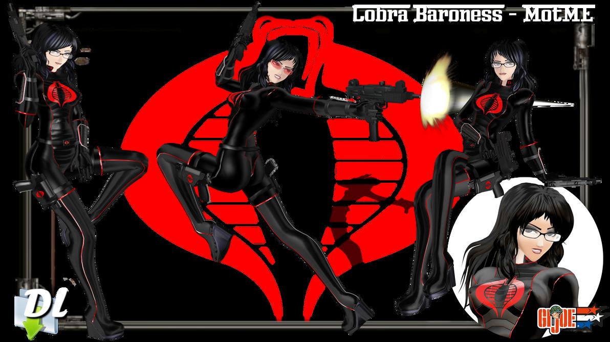 MOTME - Cobra Baroness (GI Joe) - Download UPD by Riveda1972 on