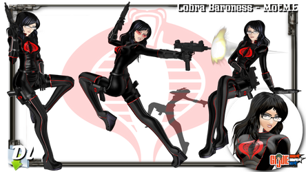 MOTME - Cobra Baroness (GI Joe) - Download UPD