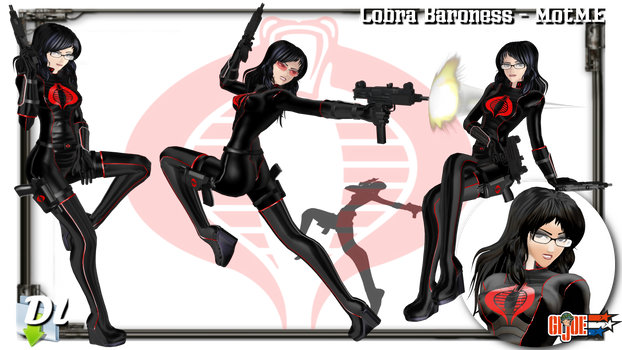 MOTME - Cobra Baroness (GI Joe) - Download UPD