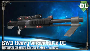 [MMD/XPS/DAZ] KWD Heavy sniper rifle - DL