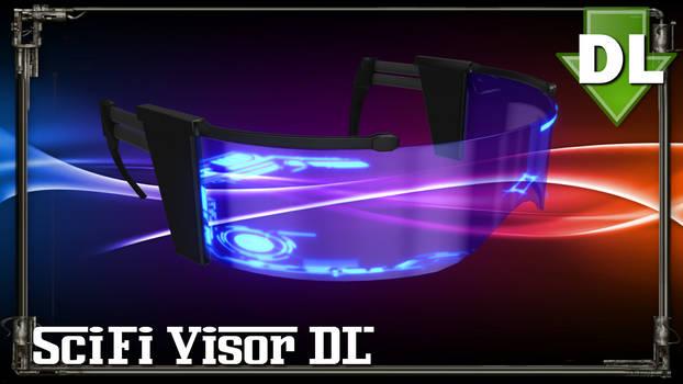 [MMD] SciFi Visor - Download