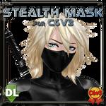 [MMD] Stealth Mask for C6V3 (Download) by Riveda1972