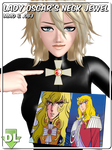 [MMD/OBJ] Lady Oscar's Neck Jewel DL by Riveda1972