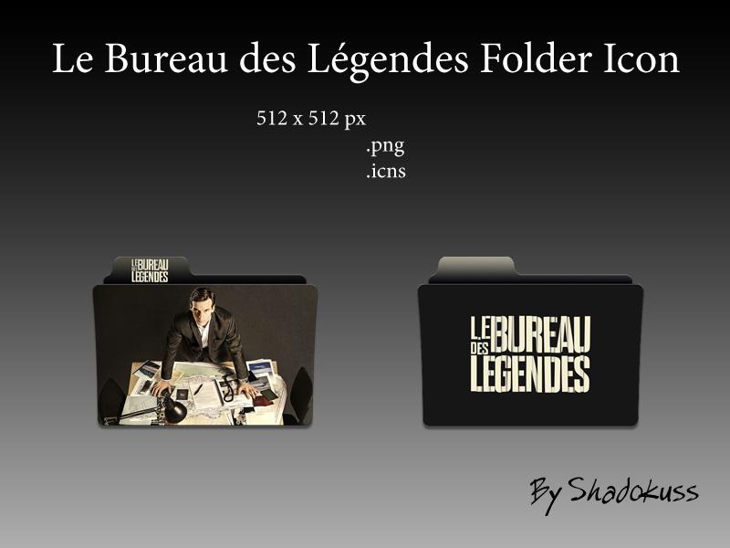 le bureau des legendes folder icon by shadokuss on deviantart. Black Bedroom Furniture Sets. Home Design Ideas