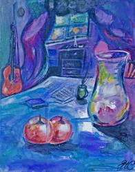 impressionist Still by Hanna C  Jpeg by nighthawkpm