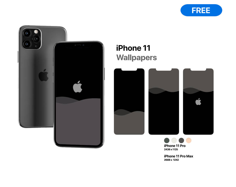 Iphone 11 Pro And 11 Pro Max Wallpapers By V1k0s On Deviantart