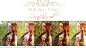 Sunkissed Photoshop Actions