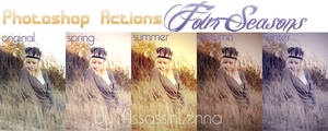 Photoshop Actions Four Seasons