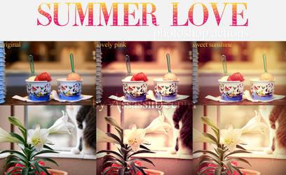 Summer Love photoshop actions