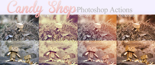 Candy Shop photoshop actions