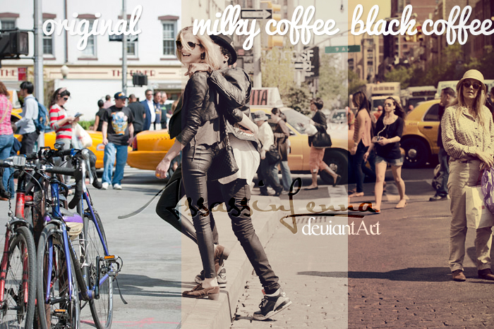 Coffee Cup photoshop actions