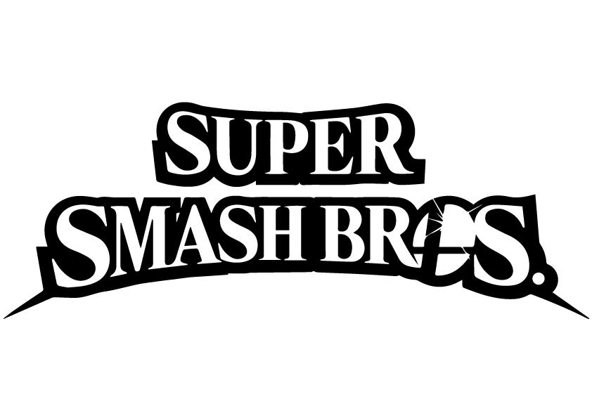 smashbros logo (vector)rageplay on deviantart