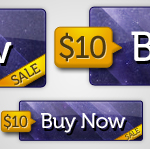 Price Tag - Cosmic Button PSD by jansin