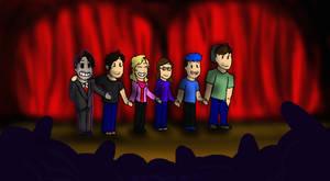 He's Here... Curtain Call!!! by DevennaSori