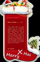 Merry Xmas by Nesmaty
