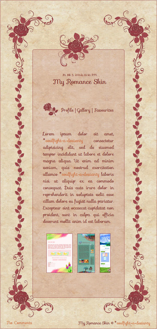 Romance Skin by Nesmaty