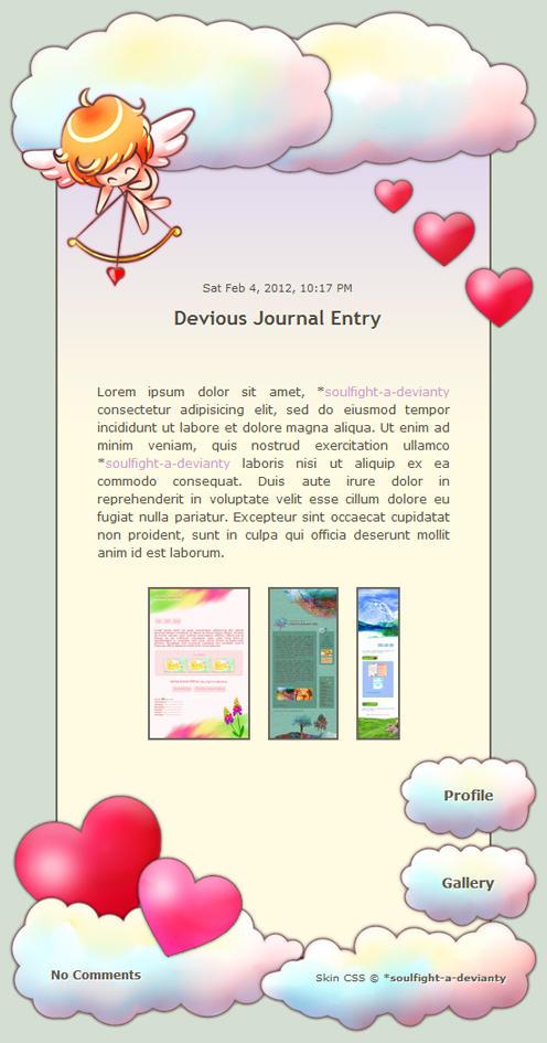 Kawaii Valentine Skin by Nesmaty