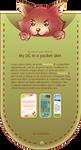 My OC in a pocket skin by Nesmaty