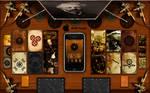 Steampunk theme iPod Touch