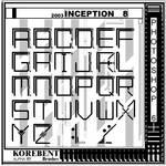 Inception 8 Korebent AlphaFont