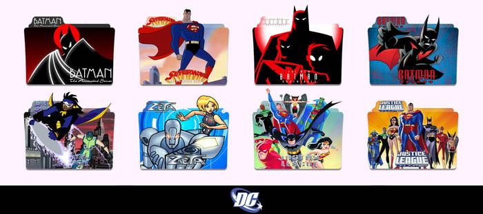 DC The Animated Series Folder Icon