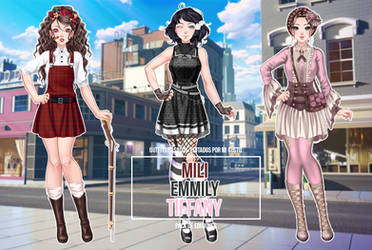 Pack of Three Outfits #2 - CDMU Pack by Gxselle