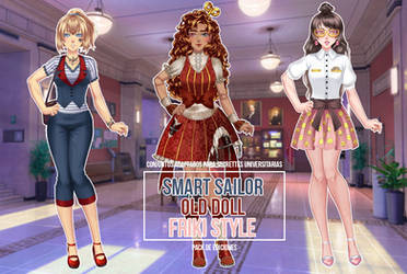 Pack of Three Outfits #3 - CDMU Pack by Gxselle