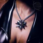 Wolf Medallion for Daz Genesis3 Freebie by Kayleyss