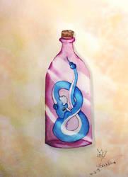 Dragonair in a bottle