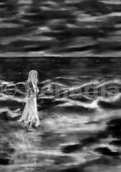 Book Cover Girl on Beach by Benadia