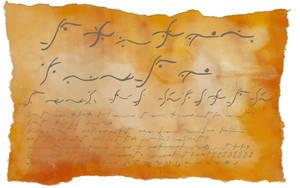 'Elvish' Runes Font by Aryiea