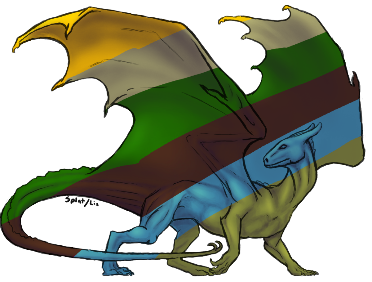 Pern Dragon Template by splatthecat