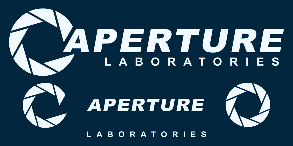 aperture science logozeptozephyr on deviantart