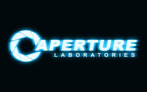 Aperture Logo HD Wallpaper by Zeptozephyr
