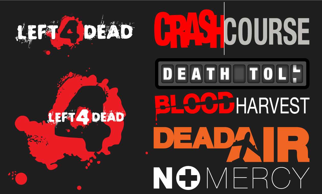Left 4 Dead Vector Pack